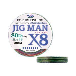 Είδη ψαρέματος - JIG MAN X8 (χρώμα: πολύχρωμο)