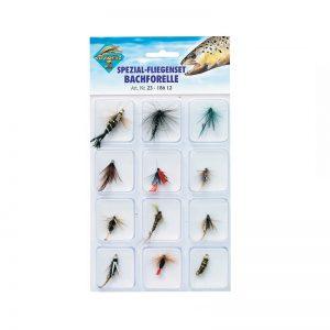 Είδη ψαρέματος - Μύγες Σετ 23-186 12 (12 τεμ.)