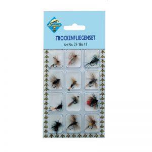 Είδη ψαρέματος - Μύγες Σετ 23-186 41 (12 τεμ.)
