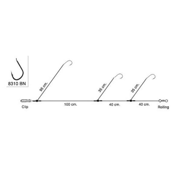 Είδη ψαρέματος - ΠΑΡΑΜΑΛΑ TEKLON Surf-4 8310BN